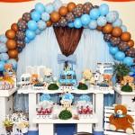 Festa Ursinho Marrom e Azul – Festa da Núbia!