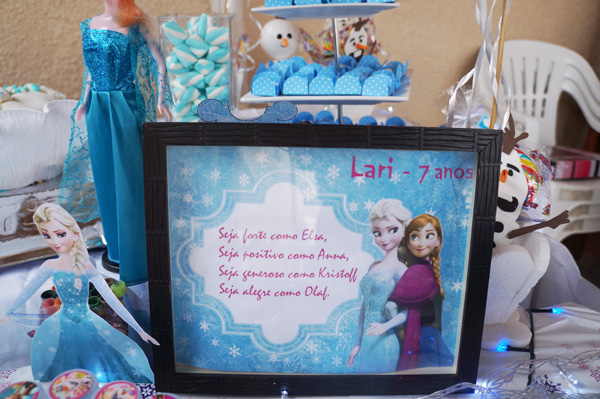 Display Festa Infantil Frozen