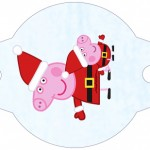 Enfeite Canudinho Peppa Pig Natal