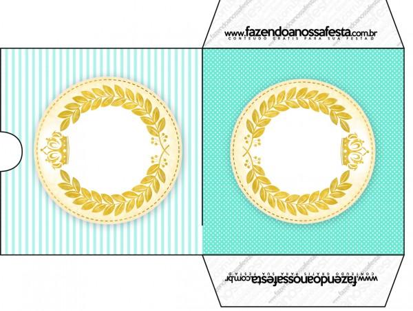 Envelope CD DVD Coroa de Príncipe Verde