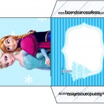 Envelope CD DVD Frozen Azul