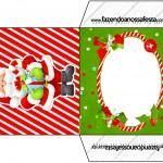 Envelope CD DVD Natal Vermelho e Verde