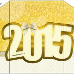 Envelope Convite Ano Novo 2015