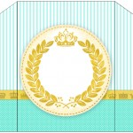 Envelope Coroa de Príncipe Verde