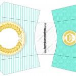 Envelope Fritas Coroa de Príncipe Verde