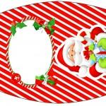 Esmalte Natal Vermelho e Verde