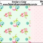 Bisnaga Brigadeiro 30gr FloralRosa e Verde
