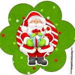 Flor Natal Vermelho e Verde