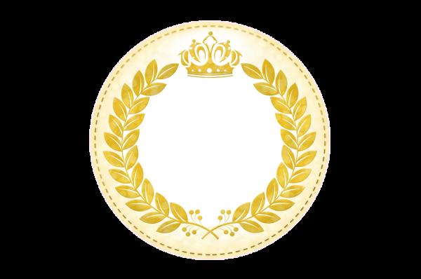 Frame Coroa de Príncipe Verde