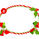 Frame Natal Vermelho e Verde