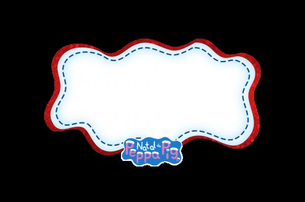 Frame Peppa Pig Natal