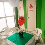 Centro de Mesa Festa Angry Birds