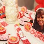 Bisnaga Brigadeiro Festa Tema Princesa