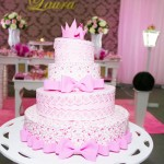 Bolo Festa da Princesa Laura
