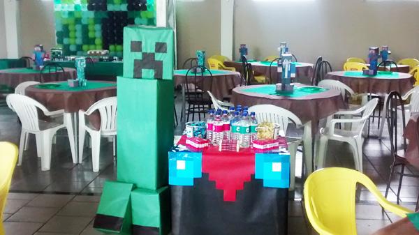 Ideias Festa Minecraft