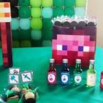 Toppers e Lembrancinhas Festa Minecraft