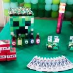 Festa Minecraft da leitora Ro!