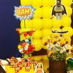 Decoração Lego Super-Heróis
