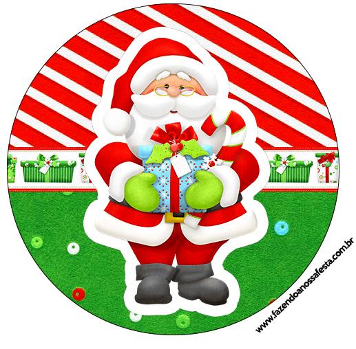 Latinhas e Tubetes Natal Vermelho e Verde