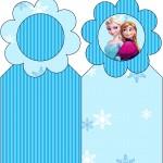 Marcador de Páginas Frozen Azul