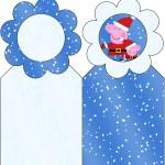 Marcador de Páginas Peppa Pig Natal