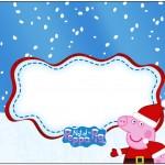 Marmita 500gr Peppa Pig Natal