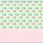 Marmita Floral Verde e Rosa