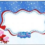 Marmita Peppa Pig Natal