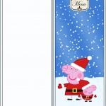 Menu Peppa Pig Natal