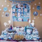 Mesa Festa Infantil Frozen