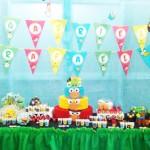 Mesa de Doces Angry Birds