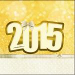 Mini Confeti Ano Novo 2015