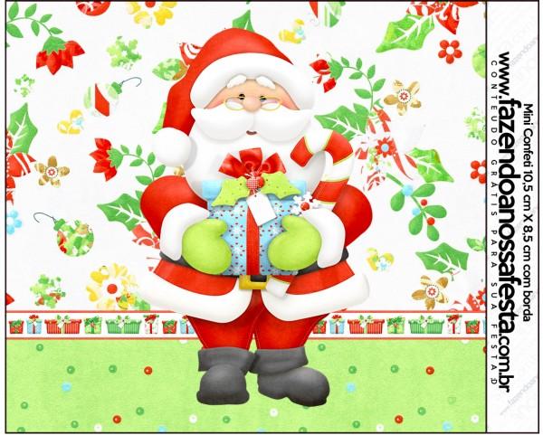 Mini Confeti Natal