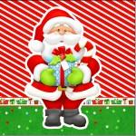 Mini Confeti Natal Vermelho e Verde