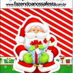 Mini Pastilha Docile Natal Vermelho e Verde