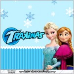 Mini Trakinas Frozen Azul