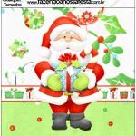 Molde Quadrado Natal