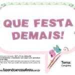 Plaquinhas Divertidas Corujinha Verde e Rosa!