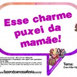 Plaquinhas Divertidas Ever After High