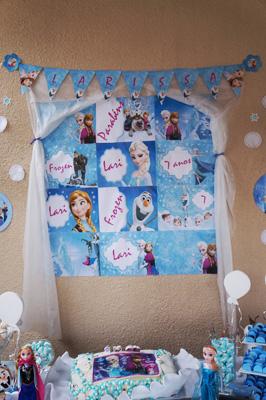 Painel Festa Infantil Frozen Festa Infantil Frozen