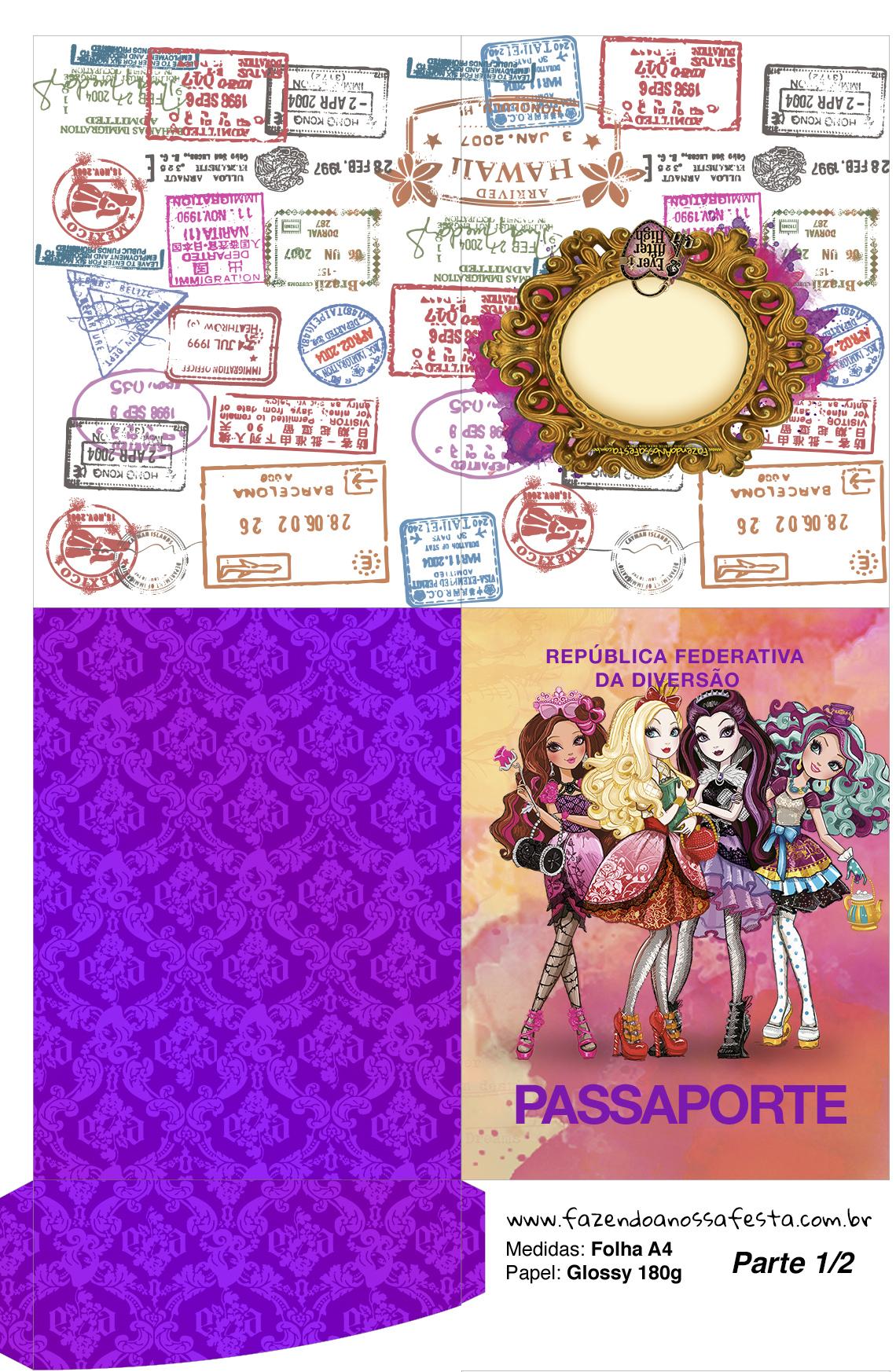 Passaporte Ever After High