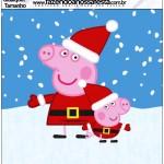 Qualquer quadrado Peppa Pig Natal