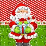 Quebra-cabeça Natal Vermelho e Verde