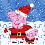 Quebra-cabeça Peppa Pig Natal
