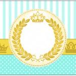 Rótulo água Coroa de Príncipe Verde
