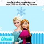 Rótulo Batom Garoto Frozen Azul
