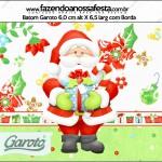 Rótulo Batom Garoto Natal