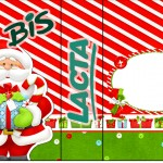 Rótulo Bis Duplo Natal Vermelho e Verde