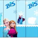 Rótulo Bis Frozen Azul
