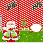 Rótulo Bis Natal Vermelho e Verde